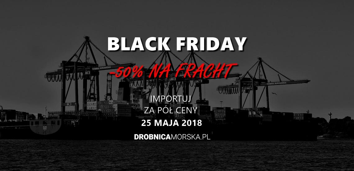 Black friday frach morski